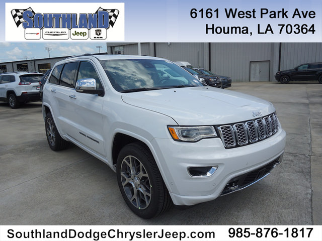 New 2019 JEEP Grand Cherokee Overland 2WD