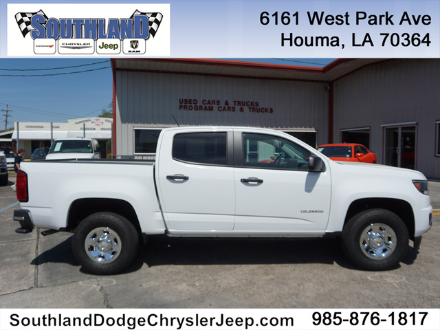 pre-owned 2017 chevrolet colorado wt 2wd 128wb crew cab in houma