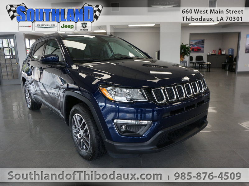New 2017 Jeep Compass Latitude Fwd Sport Utility In Houma T7j013