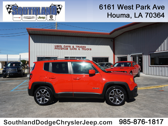 Pre-Owned 2016 Jeep Renegade Latitude FWD