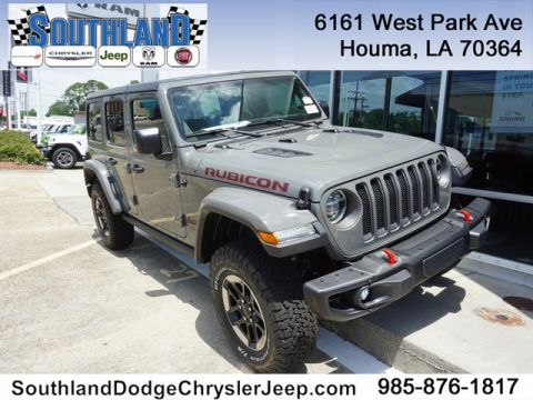 New 2019 JEEP Wrangler Rubicon 4WD