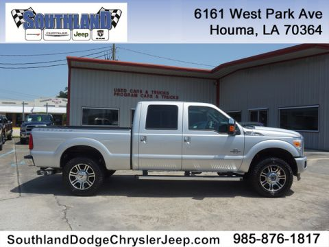 Pre-Owned 2015 Ford F-250 PLATINUM
