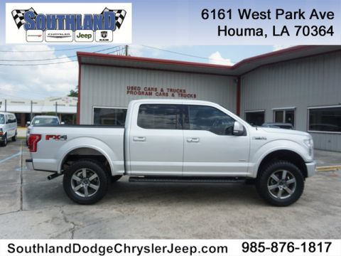 Pre-Owned 2015 Ford F-150 Lariat 4WD 145WB
