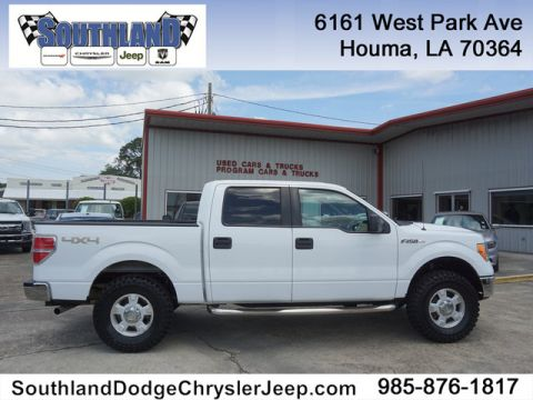 Pre-Owned 2012 Ford F-150 XLT 4WD 145WB