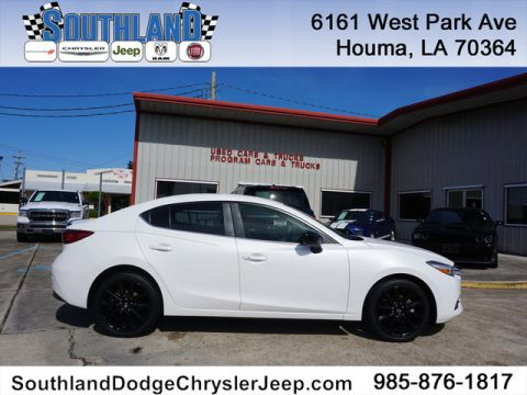 Pre-Owned 2017 Mazda3 Touring Front Wheel Drive 4 Dr Sedan