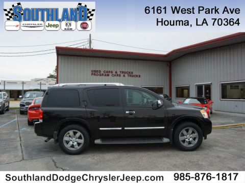Pre-Owned 2013 Nissan Armada Platinum 4WD