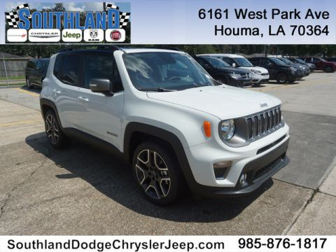 New 2019 JEEP Renegade Limited FWD